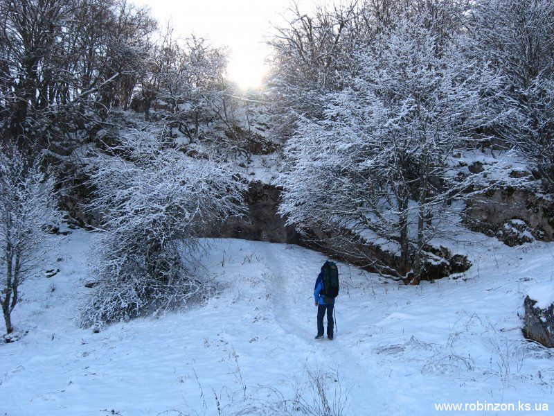Снежное царство было прекрасным и тихим
