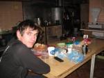 На кухне спелеобазы