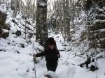 Пробираемся по снегу