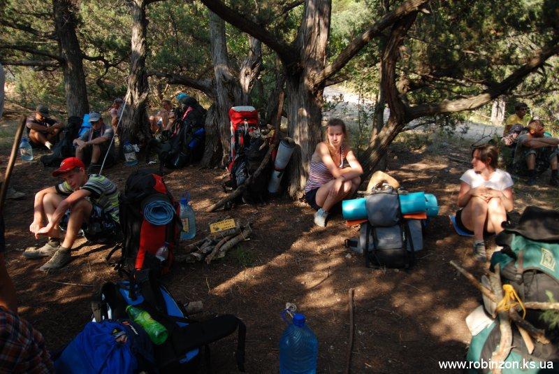 Туристический поход со студентами по юго-западному Крыму (июль 2010)Туристический поход со студентами по юго-западному Крыму (июль 2010)