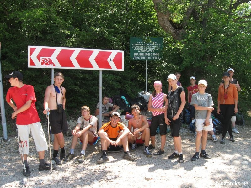 Туристический поход с детьми по юго-западному Крыму (июнь 2010)