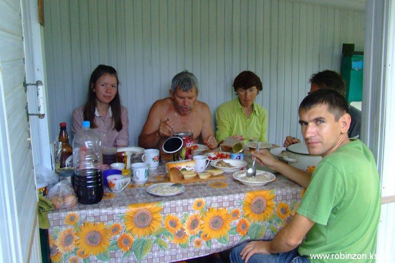 Завтрак на даче