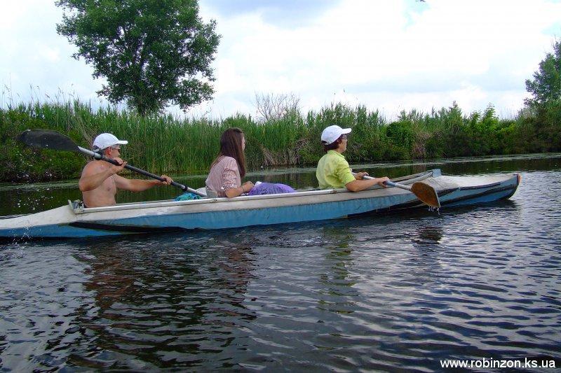 Байдарочный поход выходного дня по Нижнеднепровским плавням (май 2010)