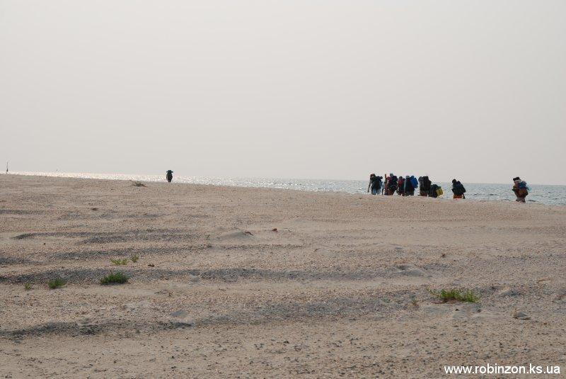 Поход на остров Джарылгач (август 2010)