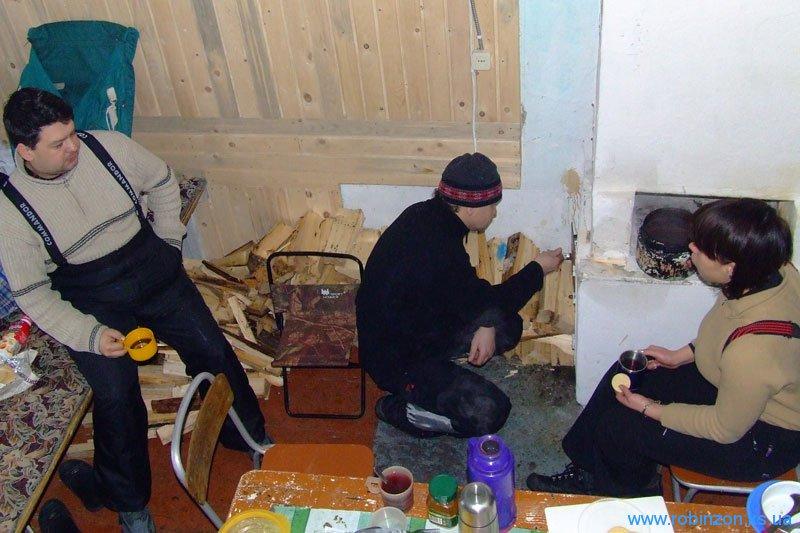 Наша комната на базе Козменщик, 31 января 2010