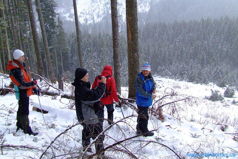 Подъем на гору Берлан, 31 января 2010