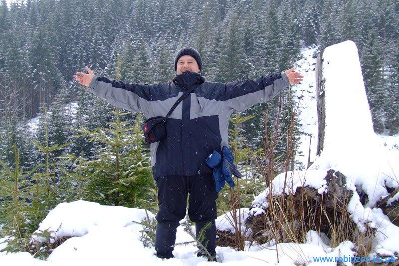 Леша в горах в первый раз, 31 января 2010