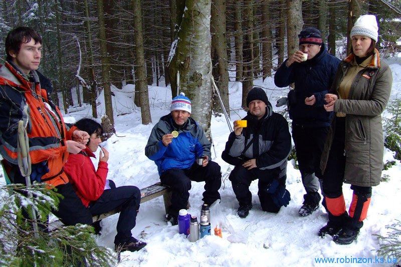 Гора Берлан - цель достигнута, 31 января 2010
