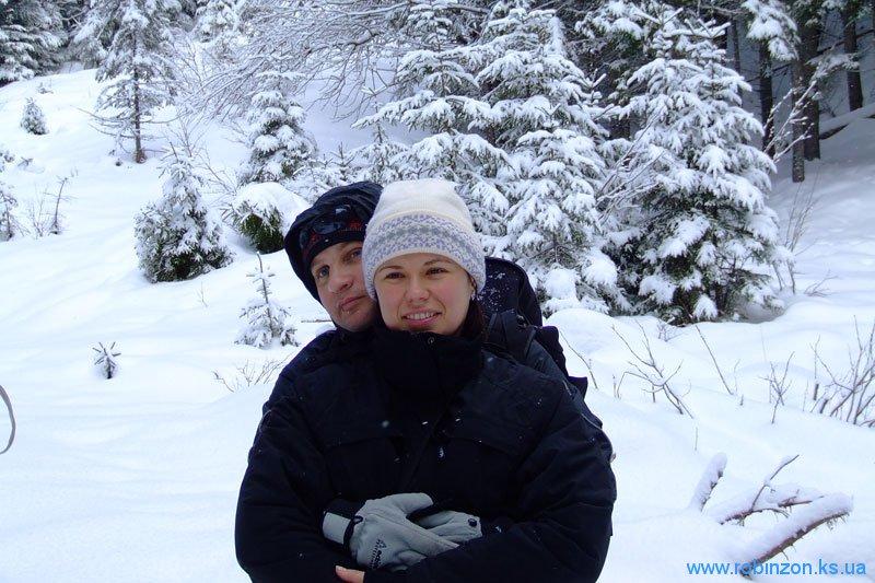 Оля и Андрей, 1 февраля 2010