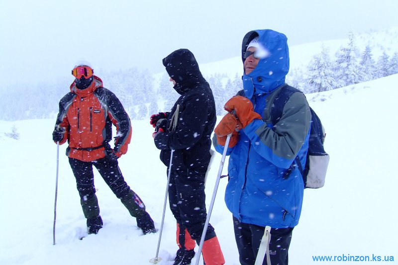 Зимняя прогулка в горах, 1 февраля 2010
