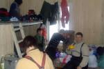 Наша комната на турбазе Козьменщик, 31 января 2010