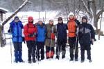 31 января 2010. Группа перед выходом на гору Берлан