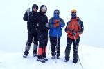 Группа на снежной прогулке, 1 февраля 2010