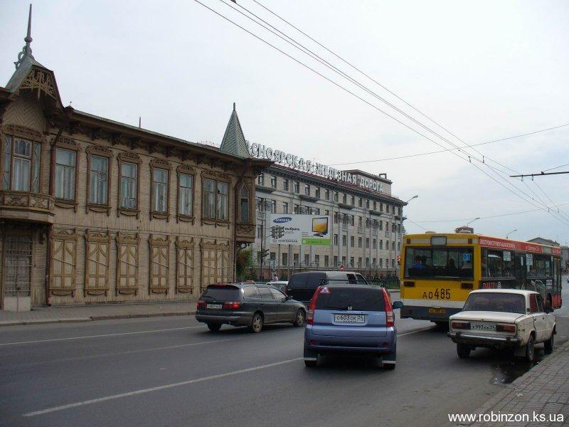 Красноярск, столбы