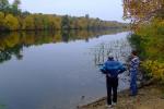 Рыбалка на реке Ингулка, 11.10.2009
