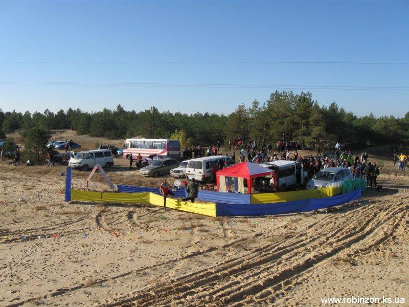 Чемпионат Украины по спортивному ориентированию 22-24 октября 2010