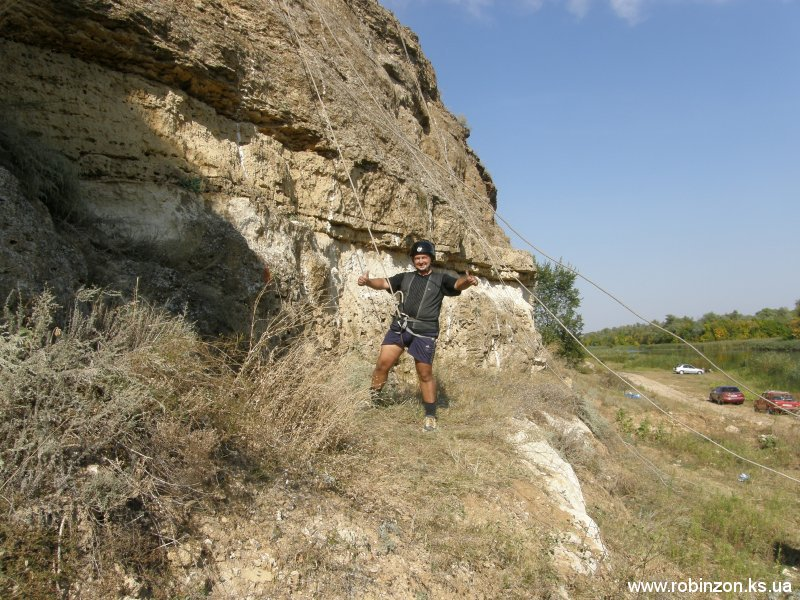 Всемирный День Туризма на скалодроме в Понятовке 25-26.09.2010 (фото Алексея)