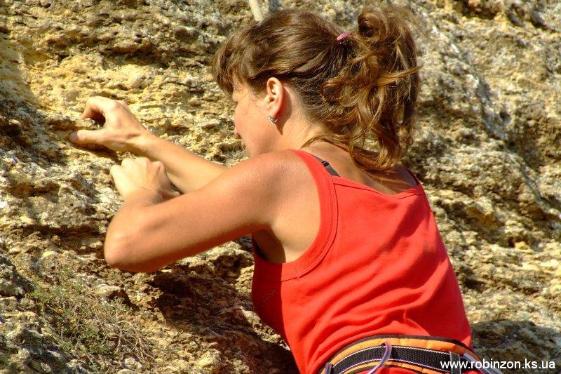 Скалодром в Понятовке - празднование Всемирного Дня Туризма, 25.09.2010