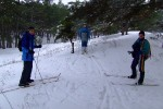 Лыжный поход выходного дня по Цюрупинскому лесу 20 декабря 2009