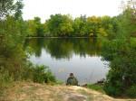 Игорь ловит рыбку