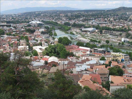 Столица Грузии - Тбилиси.
