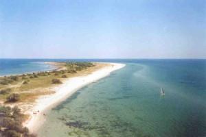 Восточный берег Джарылгача. Вид с маяка